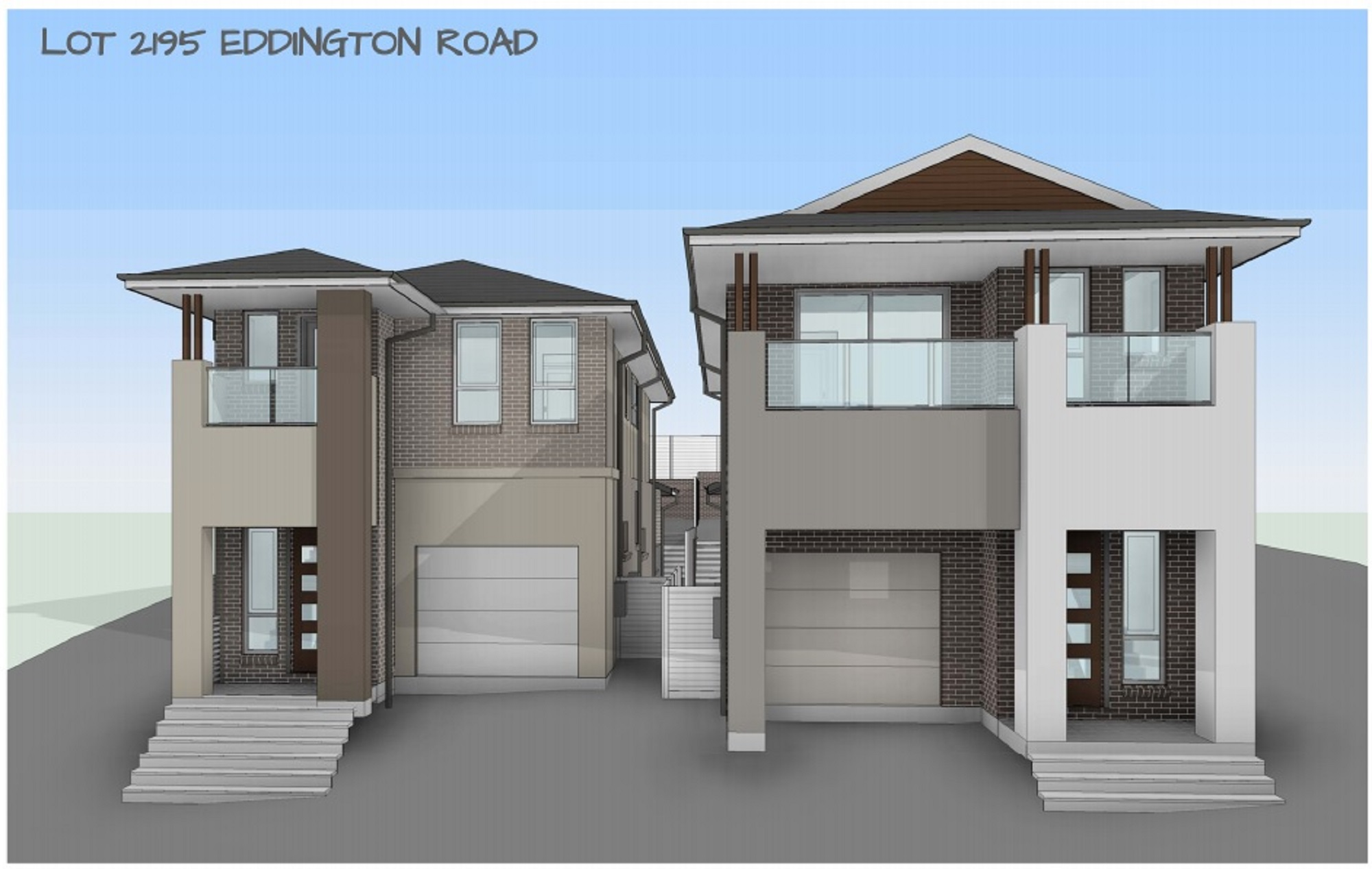 Sold [Lot 2195] 13 Eddington Road Campbelltown NSW