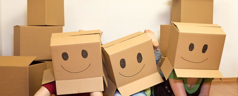 Moving happy boxes